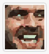 "The Shining, Jack Nicholson - ""Here's Johnny!"" Sticker"