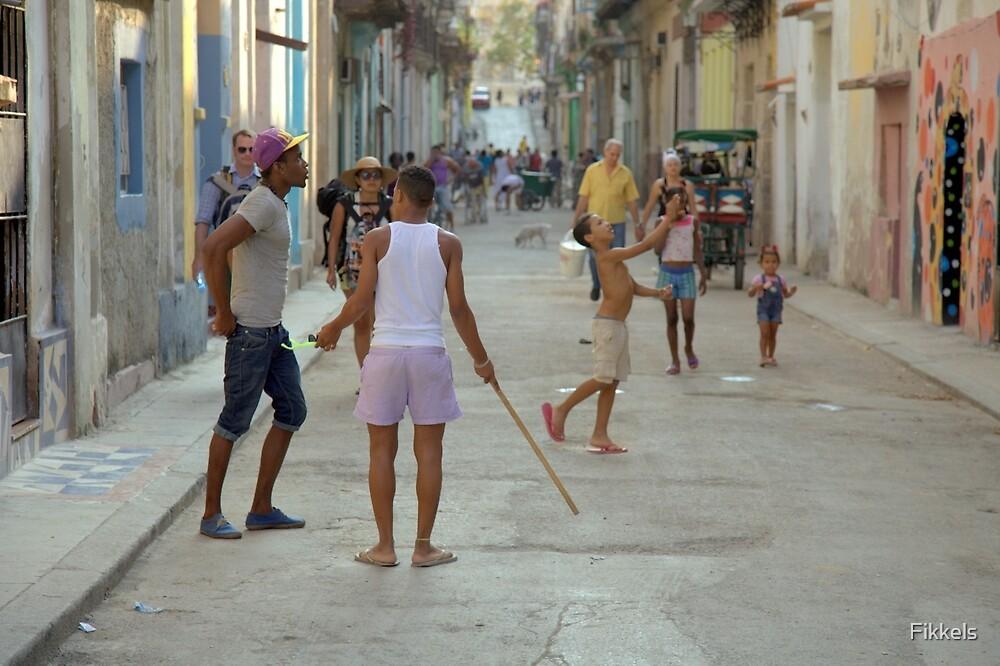 Street scene, old Havana, Cuba by Fikkels