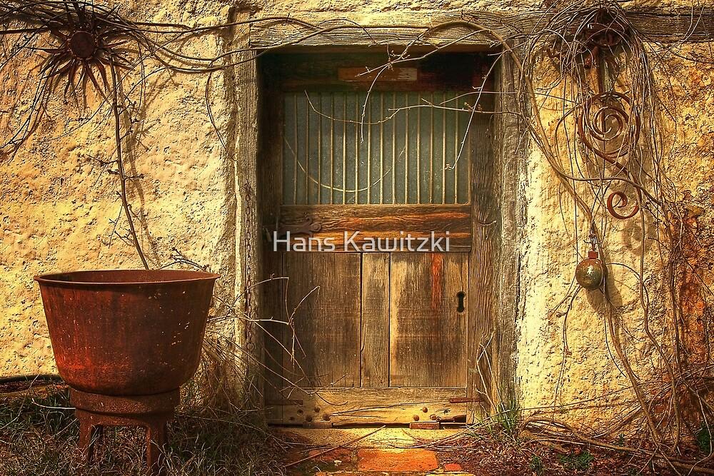 1304 Door and Bowl by Hans Kawitzki