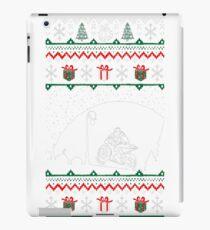 Christmas Ugly Sweater Motorcycling Sports Tshirt T-Shirt  iPad Case/Skin