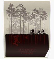 Stranger Things Top Design Poster