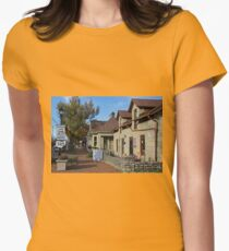 Downtown Dublin OH V Womens Fitted T-Shirt