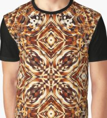 Harlequin 2 - Brown Graphic T-Shirt