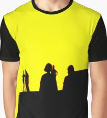 The Sun Goes Down at the Fort  Graphic T-Shirt