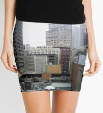 Skyscrapers in Downtown San Francisco Mini Skirt