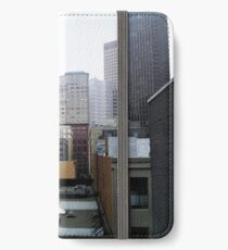 Skyscrapers in Downtown San Francisco iPhone Wallet/Case/Skin