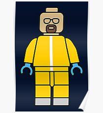 Heisenberg lego Poster