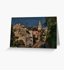 Paris - Montmartre Streetscape 002 Greeting Card