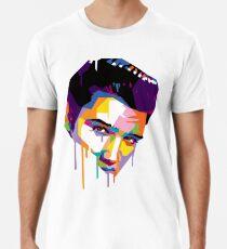 Elvis in Red Men's Premium T-Shirt