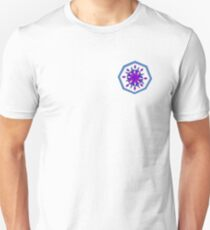 Radial Abstract Design Unisex T-Shirt