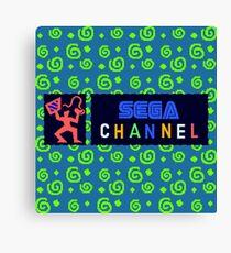 Sega Channel Canvas Print