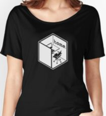 Cubicle Of Home Logo Funny Women's Relaxed Fit T-Shirt