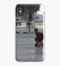 Photo shoot, Prado, Havana iPhone Case