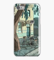 bicycles at the Hotel iPhone Case/Skin