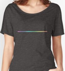 Gradient Strip Women's Relaxed Fit T-Shirt