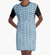 Danza Graphic T-Shirt Dress