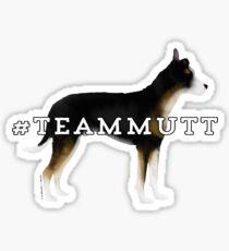 Team Mutt: Tricolor Sticker