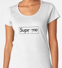 Oyasumi Punpun x Supreme Parody Box Logo Women's Premium T-Shirt