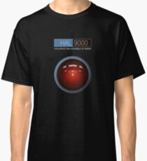 Hal 9000 2001: A Space Odyssey Classic T-Shirt