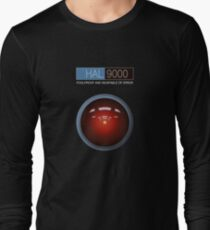 Hal 9000 2001: A Space Odyssey Long Sleeve T-Shirt