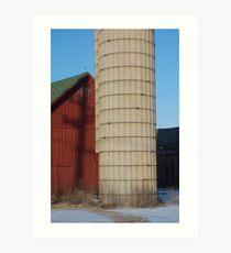 Evening on the Farm Art Print