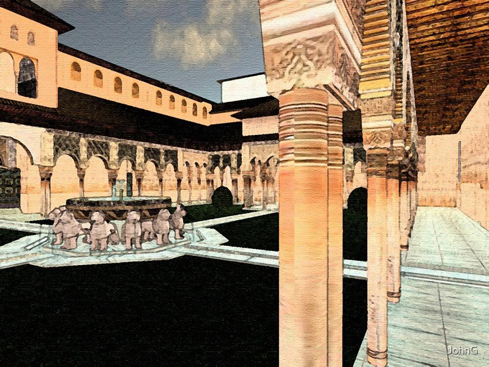 Second Life Al hambra by JohnG