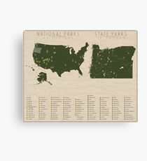 US National Parks - Oregon Canvas Print