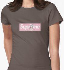 Dragon Maid Kanna x Supreme Parody Box Logo Womens Fitted T-Shirt