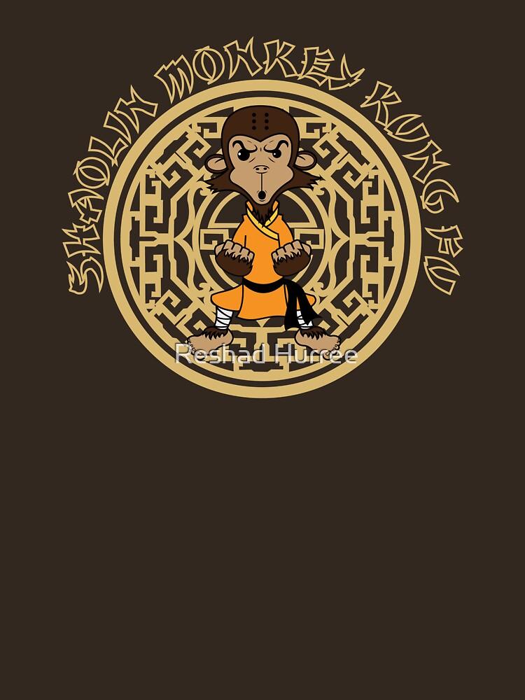 Shaolin Monkey Kung Fu by reshad80
