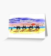 Broome Greeting Card