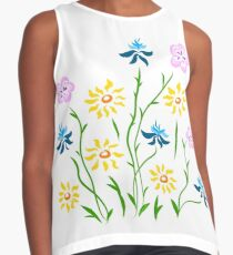 Spring Theory Contrast Tank