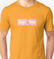 Kemono Friends Serval x Sup Me Parody Box Logo Pink Unisex T-Shirt