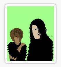 006. JJ X MJ. Sticker