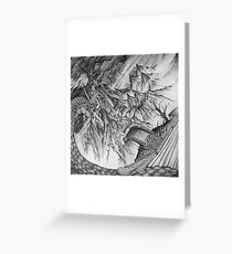Ancalagon at Thangorodrim Greeting Card