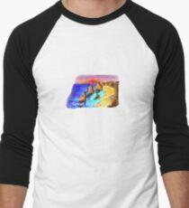 Great Ocean Road - Victoria - Australia Men's Baseball ¾ T-Shirt