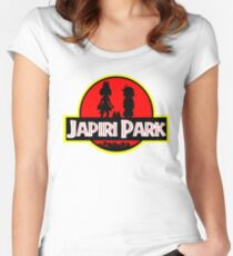 Japari Park Kemono Friends Women's Fitted Scoop T-Shirt