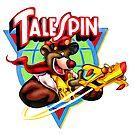 Talespin, Baloo Logo Flugzeug von RainbowRetro