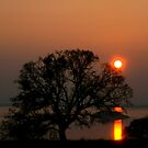 The Camanche sunset by aisamarie
