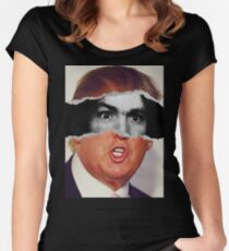 Donald Trump Charles Manson American Psycho Women's Fitted Scoop T-Shirt