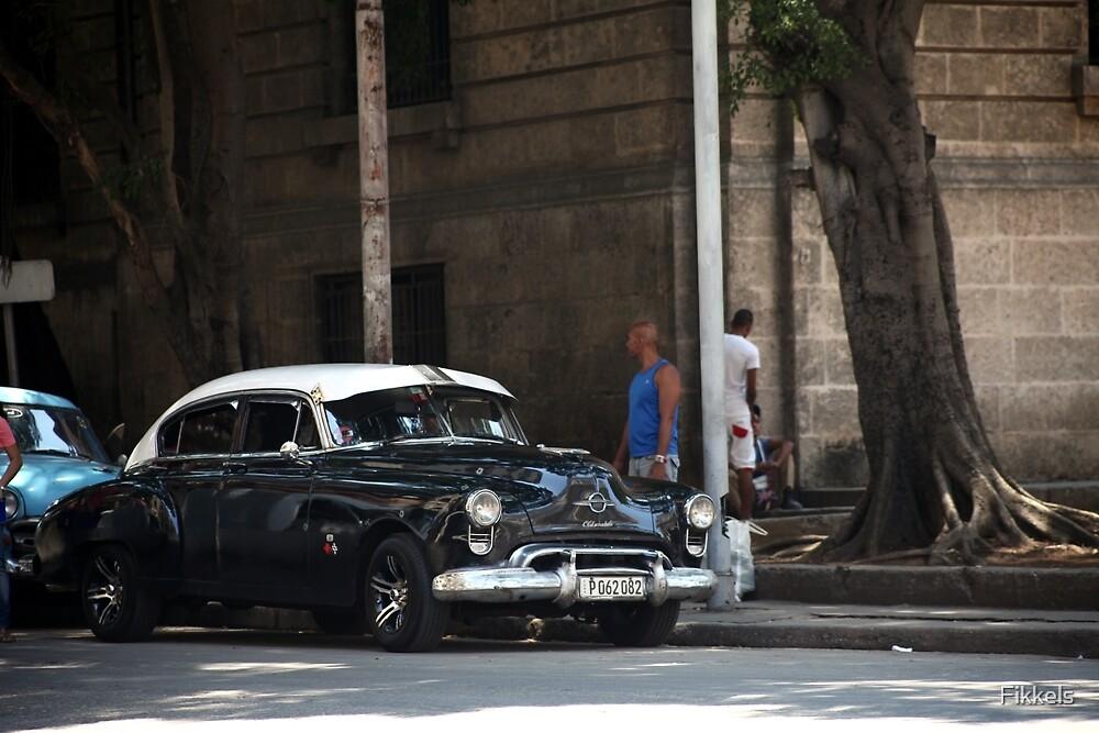Classic american car, Havana by Fikkels