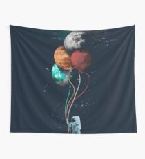 Balon Planet Wall Tapestry