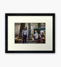 Havana policeman Framed Print
