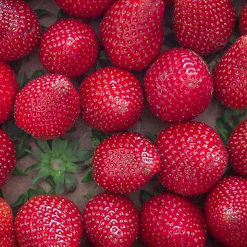 Gourmand strawberries by RaphaelGabbay