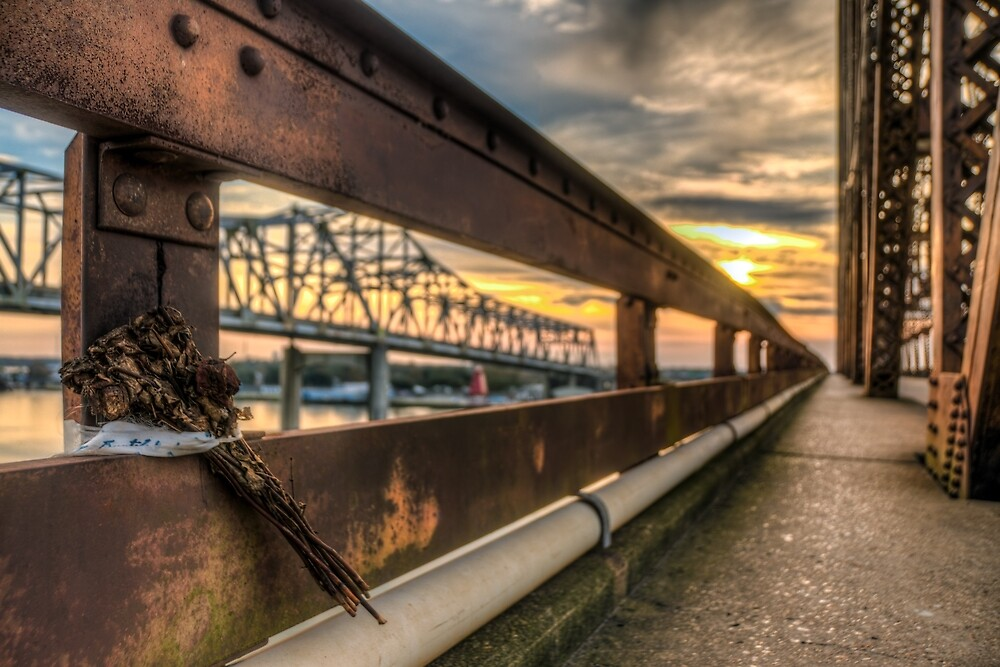 A fading, rusting, memorial by Mike Lanier