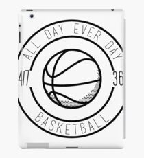 Basketball All Day Everyday iPad Case/Skin