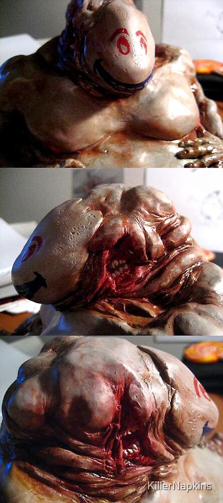 Fat Creep Sculpture 2 by KillerNapkins
