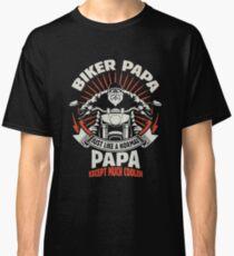 Awesome Biker Papa Classic T-Shirt