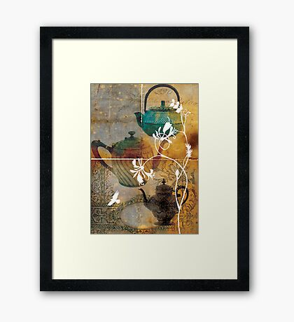 tea 01 Framed Print