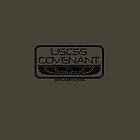USCSS Covenant : Inspired by Alien : Covenant (Dark) by WonkyRobot