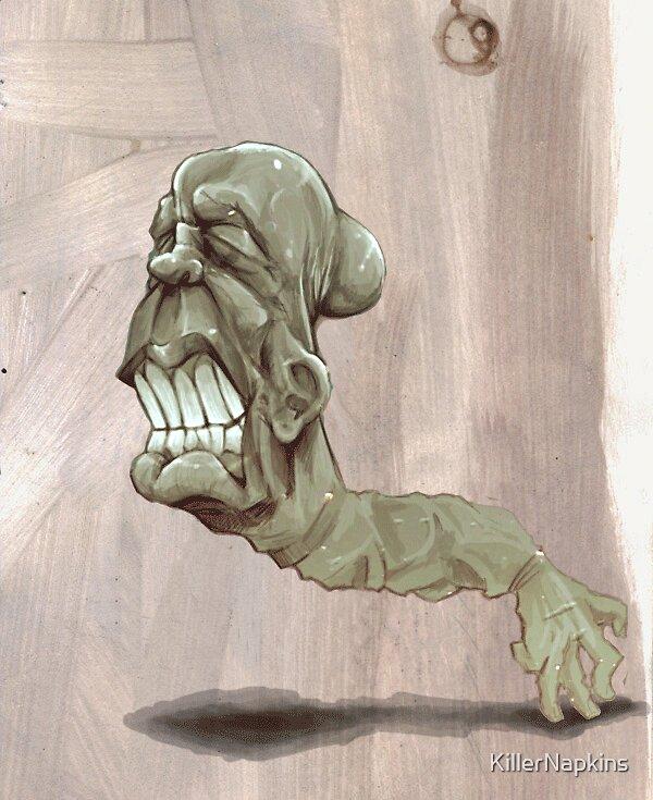 Head Pop Animation (linked) by KillerNapkins